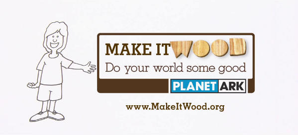 Click to watch our Make it Wood television ad